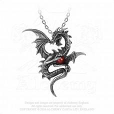 Aethera Draconem Hängsmycke från Alchemy England - Drake med Pärla
