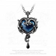 Affaire du Coeur Hängsmycke från Alchemy England - Hjärta med Dödskallar