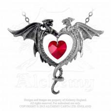 Coeur Sauvage Halsband Vildhjärta från Alchemy England