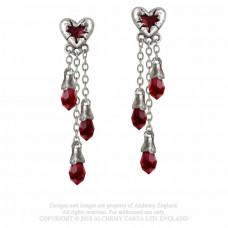 Bleeding Heart Earrings by Alchemy England