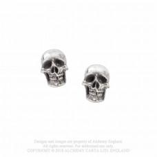 Mortuarium Earrings from Alchemy England - Skulls