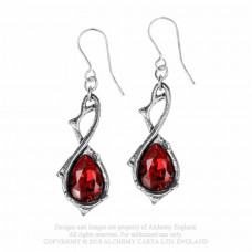 Passionette Earrings by Alchemy England - Drops and Thorns