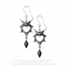 Love Bats Earrings from Alchemy England
