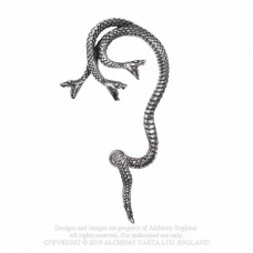 Khthonis Earring from Alchemy England - Snake Ear-Wrap