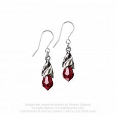 Empyrean Tear Earrings from Alchemy England - Tears from Heaven (E437R)
