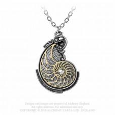 Fibonacci's Golden Spiral Pendant by Alchemy England
