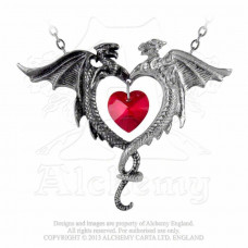 Coeur Sauvage Necklace by Alchemy England - Wild Heart Dragons