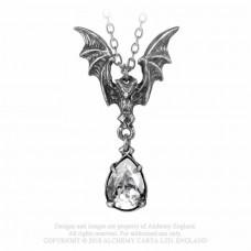 La Nuit Pendant by Alchemy England - Bat Necklace