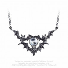 Phantom Necklace by Alchemy England - Bats and Moon