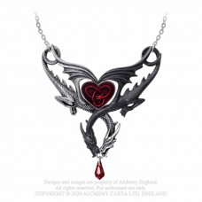 Confluence of Opposites Necklace by Alchemy England - Dragon Necklace