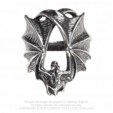 Stealth Ring by Alchemy England - Creeping Bat Ring