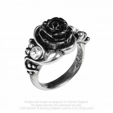 Bacchanal Rose Ring by Alchemy England - Rose and Grapes
