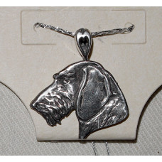 Dachshound Wirehair Pendant No. n16566
