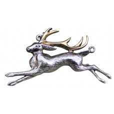 Jackalope Pendant for Warrior's Strength by Briar