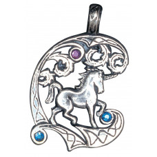 Unicorn Pendant for Protection and Healing