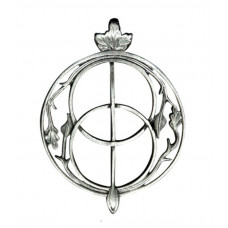Chalice Well Pendant for Intuition - Glastonbury Red Well Cover