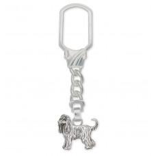 Afghan Hound Key Ring No. AF01-K