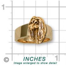 Afghan Hound Ring No. AF02-R