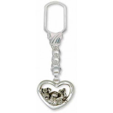 Airedale Terrier Key Ring No. AR03-KR