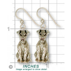 Airedale Terrier Earrings No. AR04-E