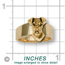 Airedale Terrier Ring No. AR07-R