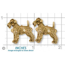 Airedale Terrier Cuff Links No. AR09-CL