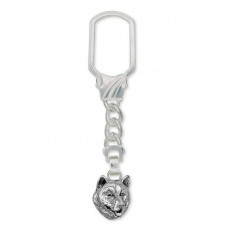 Alaskan Malamute Key Ring No. MAL01-KR