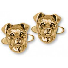 American Staffordshire Terrier Cuff Links No. PAS04-CL
