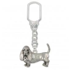 Basset Hound Key Ring No. BAS01-KRE
