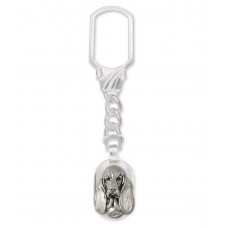Basset Hound Key Ring No. BAS02-K