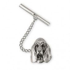 Basset Hound Tie Tac or Lapel Pin No. BAS03-TT