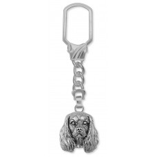 Cavalier King Charles Spaniel Key Ring No. KC14-KR