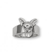 Chihuahua Smooth Ring No. AD06H-R
