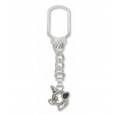 Chihuahua Smooth Key Ring No. CH53-KRE