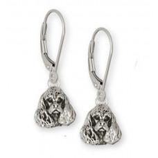 American Cocker Spaniel Earrings No. CK05-KW