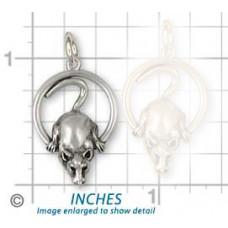 Rat in Ring Pendant No. n15077