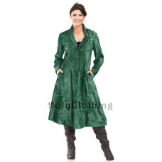 Onyx Coat size L in Forest Green