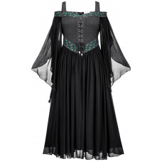 Acacia Maxi Petite Medieval Dress in size S - 5X in six colors