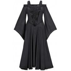 Aisling Maxi Medieval Dress in size S - 5X in ten colors