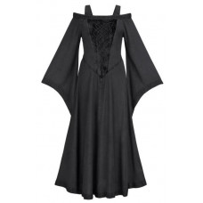 Aisling Maxi Tall Medieval Dress in size S - 5X in ten colors