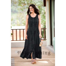 Fiona Maxi Dress in size S - 5X in twelve colors