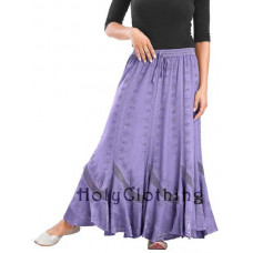 Isabella Maxi Skirt size 2XL/3XL in Lavender