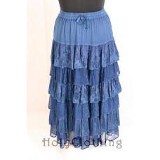 Jessica Maxi Skirt size 2XL/3XL in Ocean
