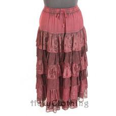 Jessica Maxi Skirt size L/XL in Ruby
