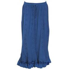 Seanna Maxi Skirt size L/XL in Sapphire