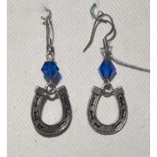 Horse Shoes Earrings No. e09294