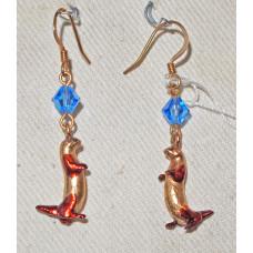Otter Earrings No. e10076
