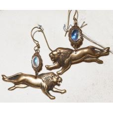 Lion Earrings No. e10233