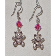 Teddy Bear Earrings No. e11261