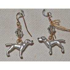 Weimaraner Earrings No. e12230